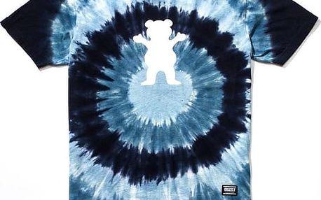 triko GRIZZLY - Eclipse Tie-Dye Blue (BLU)