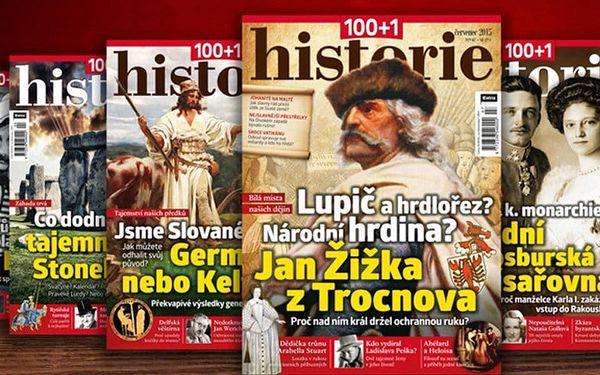 Časopis 100+1 historie, kompletní ročník 2016 – rozlouskněte historické záhady2