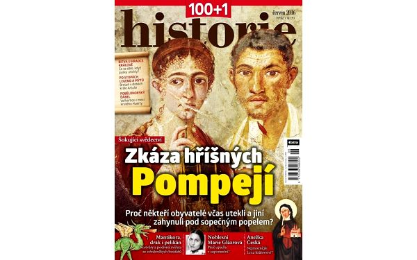 Časopis 100+1 historie, kompletní ročník 2016 – rozlouskněte historické záhady3