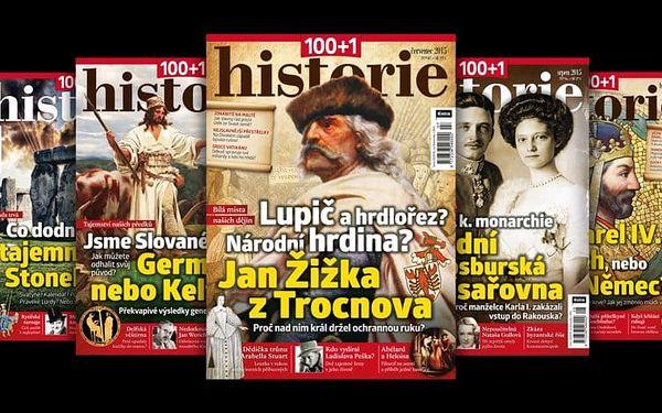Časopis 100+1 historie, kompletní ročník 2016 – rozlouskněte historické záhady5