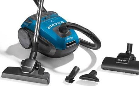 Vysavač podlahový Concept VP8081 modrý