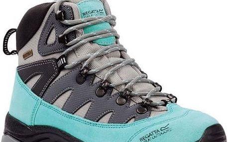 Dámské boty Regatta SBRWF476 LADY PHANTOM Light Grey/Tourquise