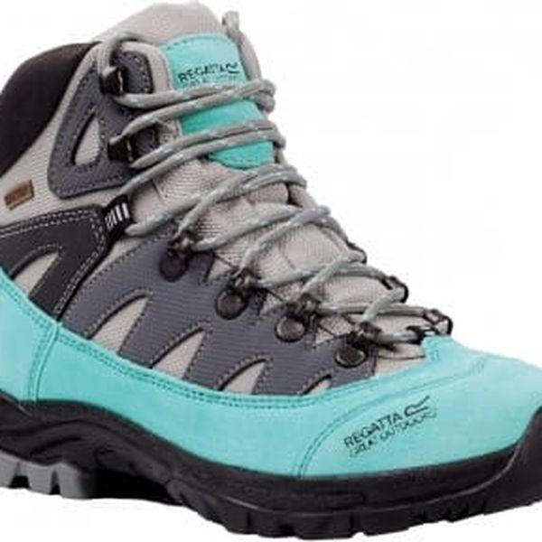 Dámské boty Regatta SBRWF476 LADY PHANTOM Light Grey/Tourquise 403