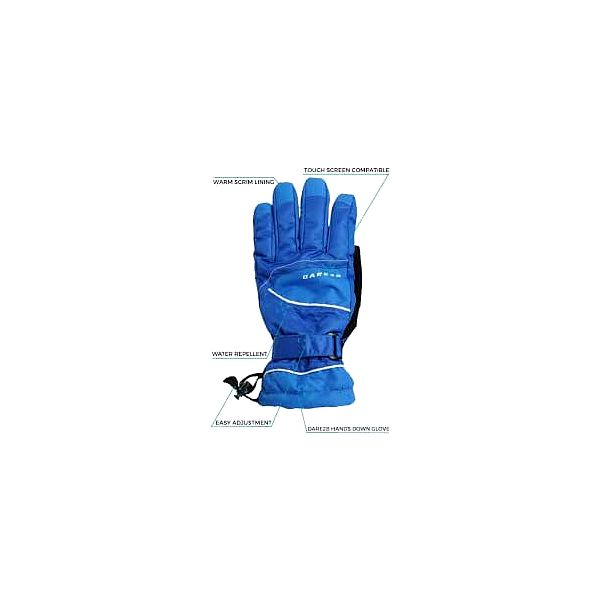 Pánské lyžařské rukavice DMG028 Dare2B HANDS DOWN Glove Cls/Blue XL3