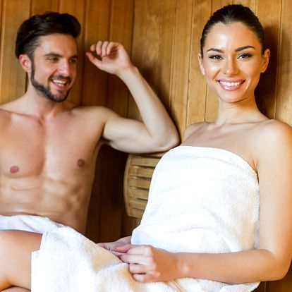 Ve dvou do teplíčka - 90 minut v sauně