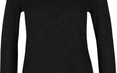 Černý lehký svetr s vysokým límcem Dorothy Perkins