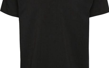 Černé pánské triko s véčkovým výstřihem Pietro Filipi
