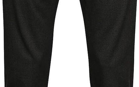 Šedé pánské slim fit kalhoty s jemným vzorem Pietro Filipi
