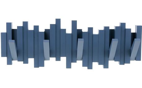 Modrý vyklápěcí věšák Umbra Sticks