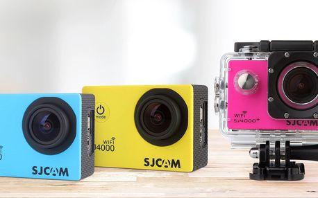 Sportovní Full HD kamera s příslušenstvím