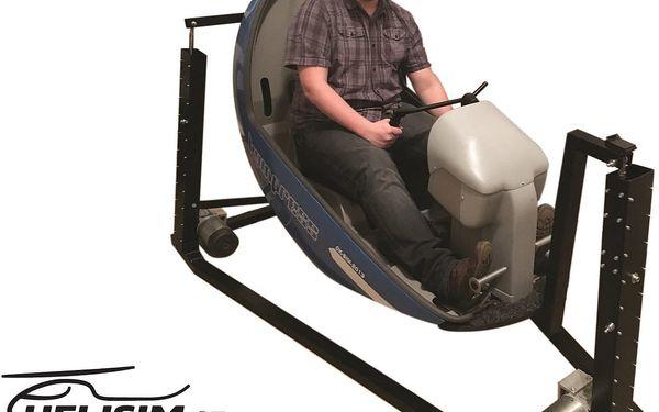 Staň se pilotem vrtulníku: Plně pohyblivý simulátor s 3D brýlemi2