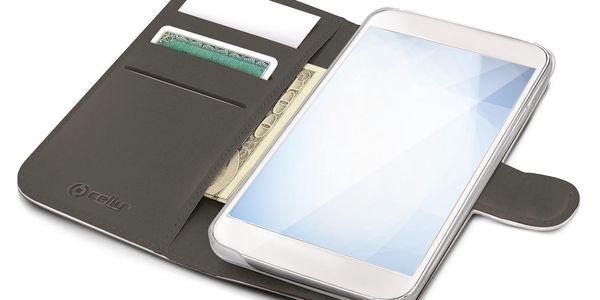 Pouzdro na mobil flipové Celly pro Apple iPhone 6/6s (WALLY700WH) bílé2