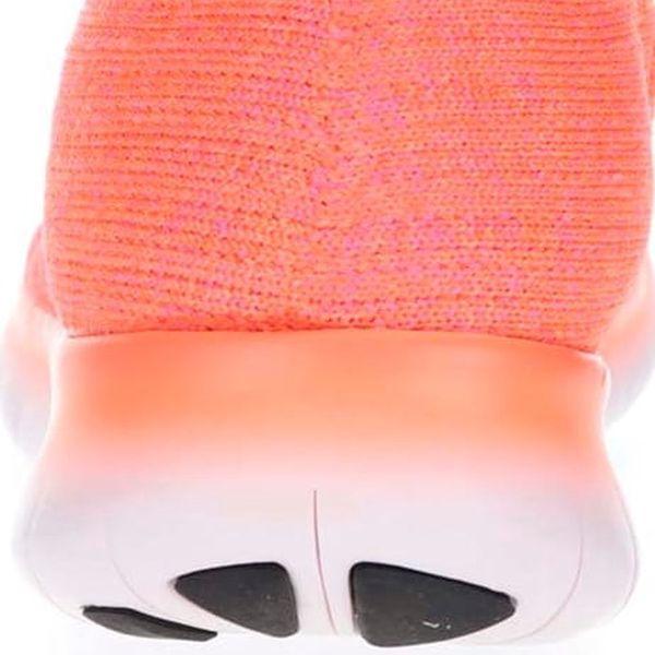Neonově oranžové dámské tenisky Nike Free Flyknit4