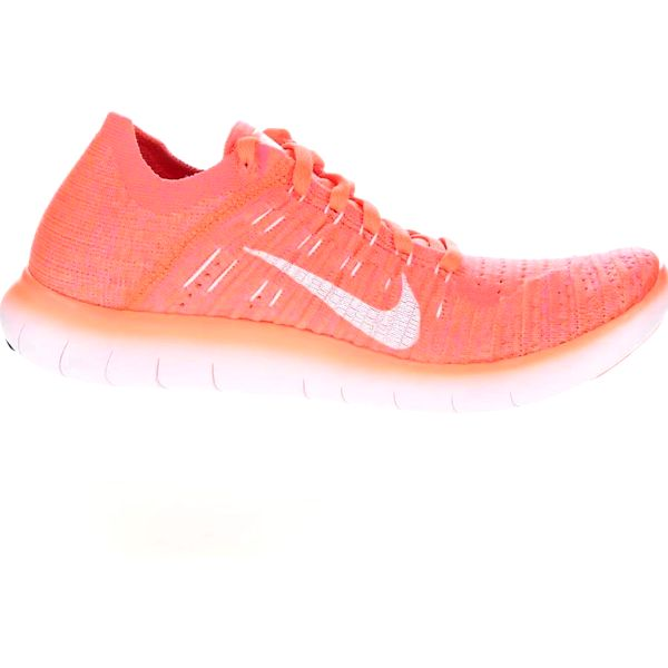 Neonově oranžové dámské tenisky Nike Free Flyknit5