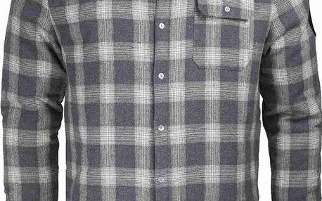košile SANTA CRUZ - Axle Overshirt Grey Check (GREY CHECK)