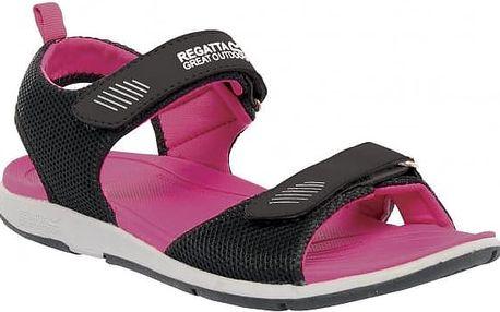 Dámské sandále Regatta RWF396 TERRAROCK Black/ActPnk