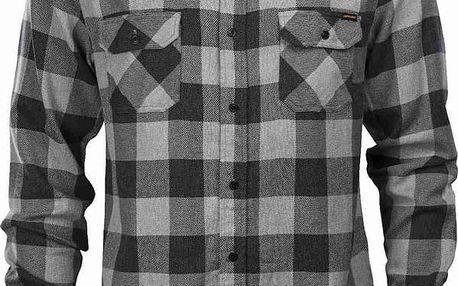 košile SANTA CRUZ - SCS Wilder Grey Heather/Black (GREY HEATHER BLACK) velikost: M
