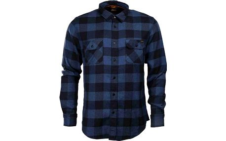 košile SANTA CRUZ - SCS Wilder Black/Dark Denim (BLACK DARK DENIM) velikost: XL