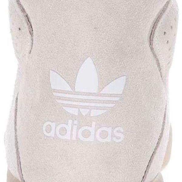 Krémové pánské kožené kotníkové tenisky adidas Originals Tubular Invader2