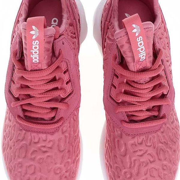 Růžové dámské tenisky adidas Originals Tubular Runner W3
