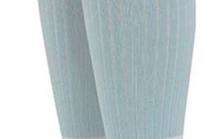 Světle modré dámské návleky s proužky Stance Footless