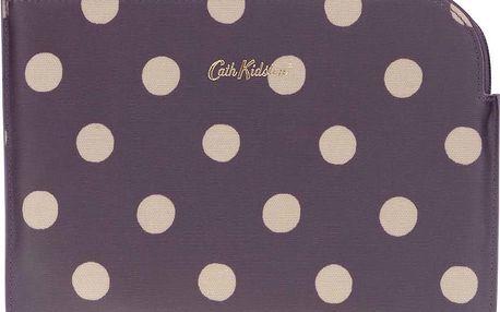 Fialové pouzdro na tablet s puntíky Cath Kidston