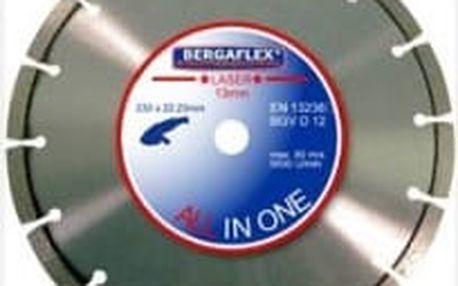 Kotouč diamantový BERGAFLEX ALL in 1 Laser 230x10x22,2 mm ERBA ER-4423041