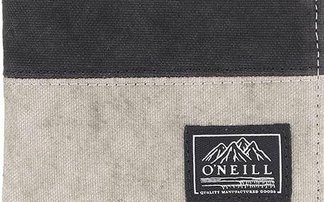 Světle šedá pánská peněženka s černým pruhem O'Neill Point Break