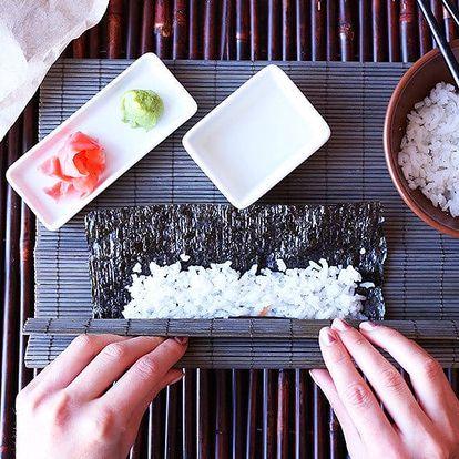 Kurz sushi a japonské kuchyně v Buddha Café