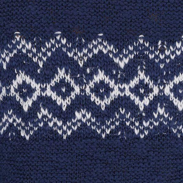 Tmavě modré holčičí pončo se vzorem Blue Seven3