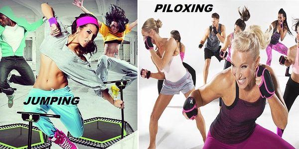 Cvičení může být zábava: 2 vstupy na jumping či piloxing3