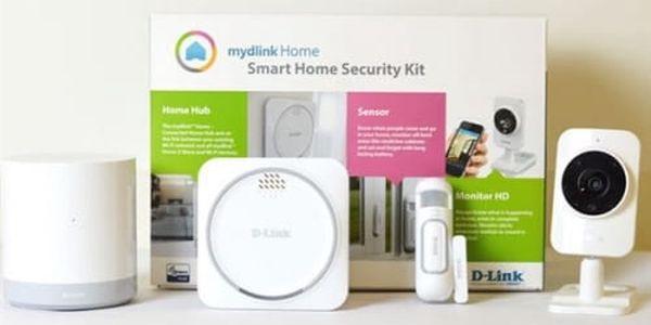 Kompletní sada D-Link mydlink™ Home Security Starter Kit (DCH-107KT)