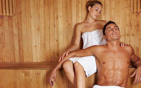 60 minut privátního wellness se saunou vířivkou