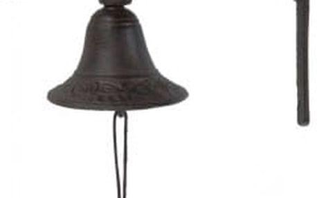 Zvonek nad dveře sova, železný, hnědý EXCELLENT KO-CE7100530sova