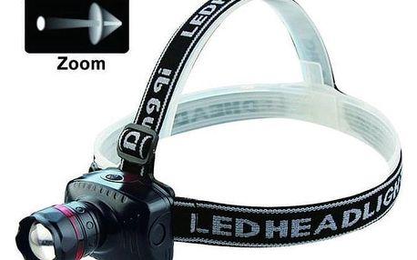 LED čelovka - Dosvit až 150 metrů.