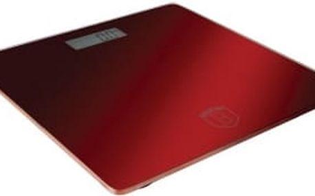 Váha osobní digitální 150 kg Burgundy Metallic Line KELA BH-9006