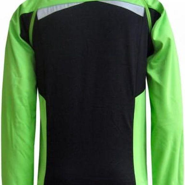 Pánská odlehčená softshellová bunda / vesta Envy KATTYN Green Black s2