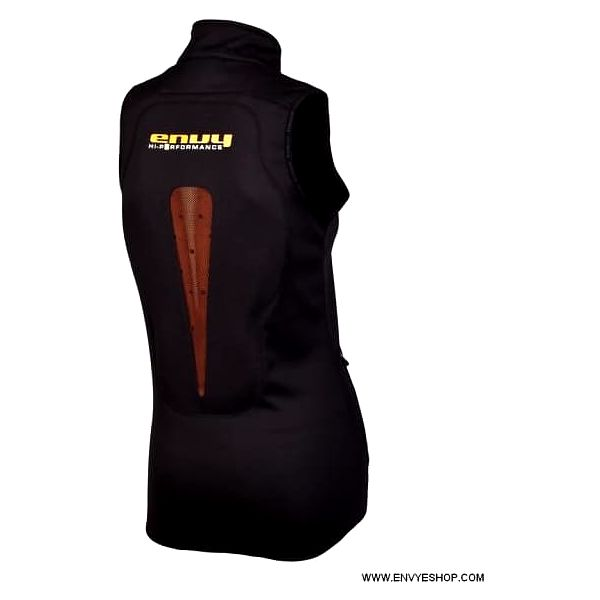 Dámská softshellová vesta Envy PURAKAY Black 442