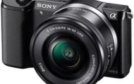 Digitální fotoaparát Sony Alpha A5000 + 16-50mm černý