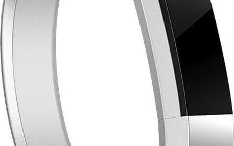 Fitbit Alta náhradní pásek metal S, stříbrná - FB158MBSRS