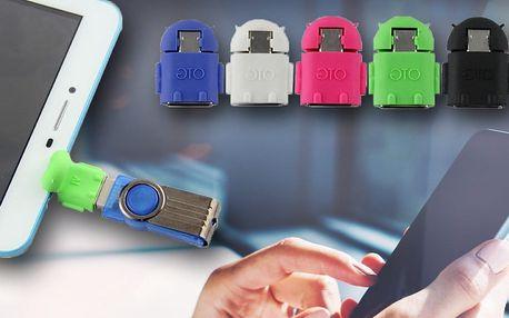 MicroUSB → USB adaptér pro mobily a tablety