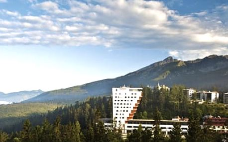 3 dny luxusní relaxace na Štrbském Plese pro dvě osoby za 4399 Kč. Ubytování v luxusním hotelu PANORAMA RESORT přímo u Štrbského plesa s překrásným výhledem na Vysoké i Nízké Tatry