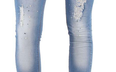 Dámské jeansové kalhoty Diamonds vel. EUR 34, UK 8
