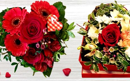 Kytice, kterými potěšíte nejen na Valentýna