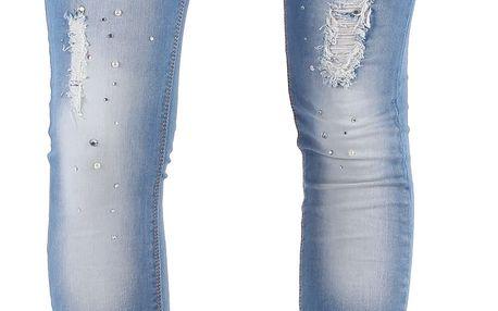 Dámské jeansové kalhoty Diamonds vel. EUR 40, UK 14