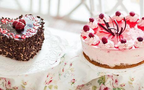 Něžné dorty, ze kterých se vám rozbuší srdce