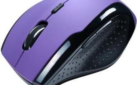 Počítačová myš Connect IT CI 156 fialová
