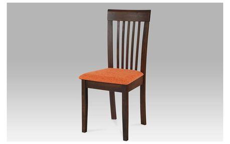 Jídelní židle BEZ SEDÁKU, barva ořech BE1605 WAL