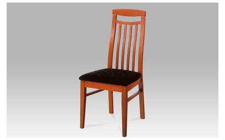 Dřevěná židle BE810 TR2 třešeň BEZ SEDÁKU