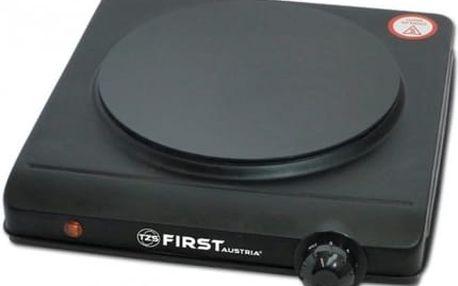 Jednoplotýnkový sklokeramický vařič First FA 5096-1